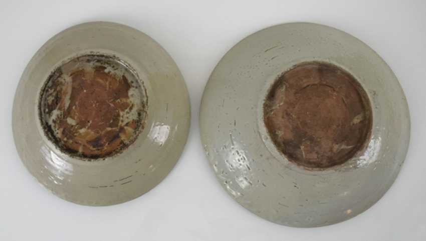 Two Swatow-plate made of porcelain - photo 3