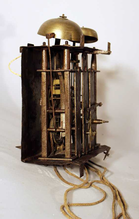 Clock movement with two bells and iron parts - photo 2