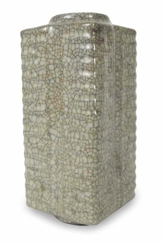 Cong'-shaped Vase with craquelierter glaze - photo 1