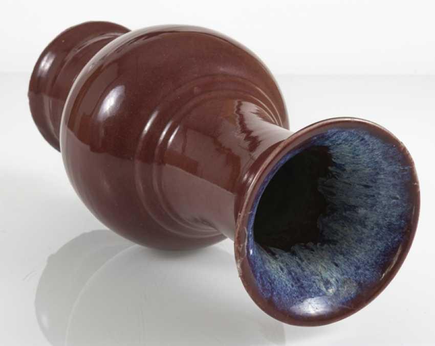 Yenyen'Vase with Flambé glaze - photo 2