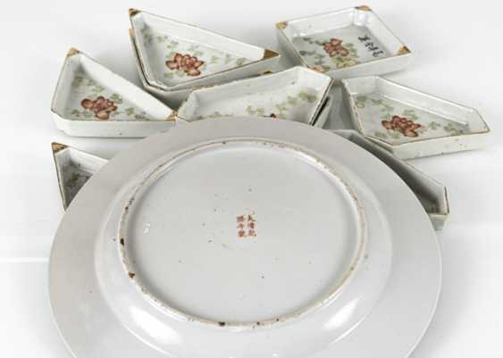 Plate and Doctors set made of porcelain - photo 2