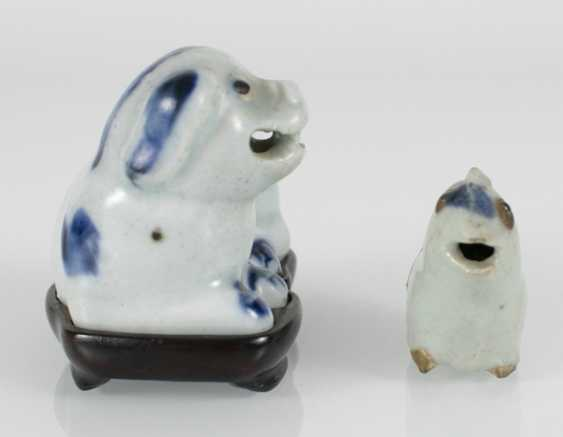 Two small porcelains in animal shape - photo 2