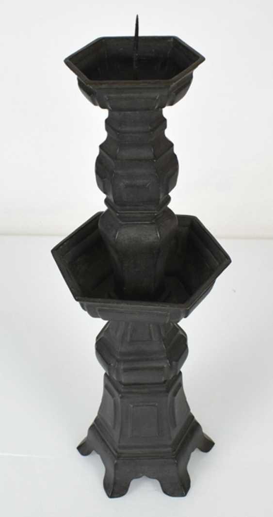Large chandelier burnished Bronze - photo 2