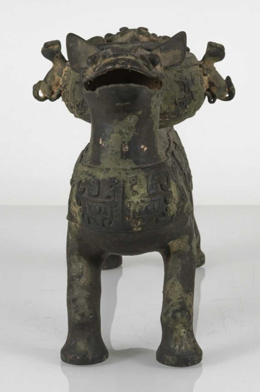 Group of five bronzes in the archaic style - photo 5