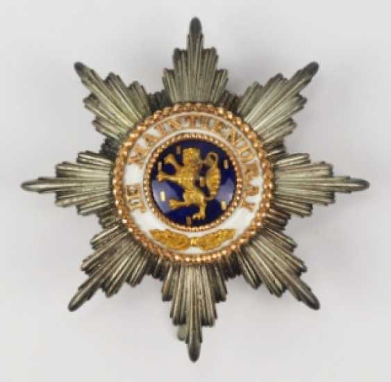 Luxembourg: order of the Golden lion of the house of Nassau, Grand cross star - photo 1
