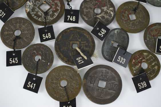 18 coin-shaped amulets, including the 12 signs of the zodiac and the eight trigrams - photo 2