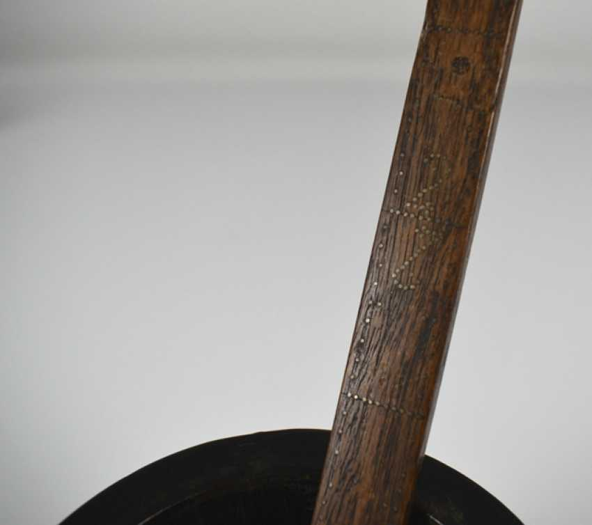 Brush, Cup, and paper weight - photo 2