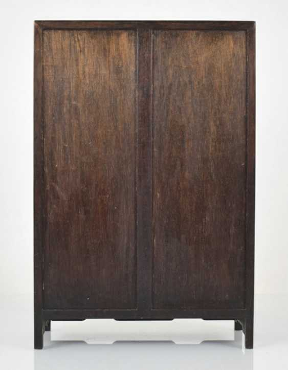Small Cabinet made of hard wood with Display compartments - photo 3