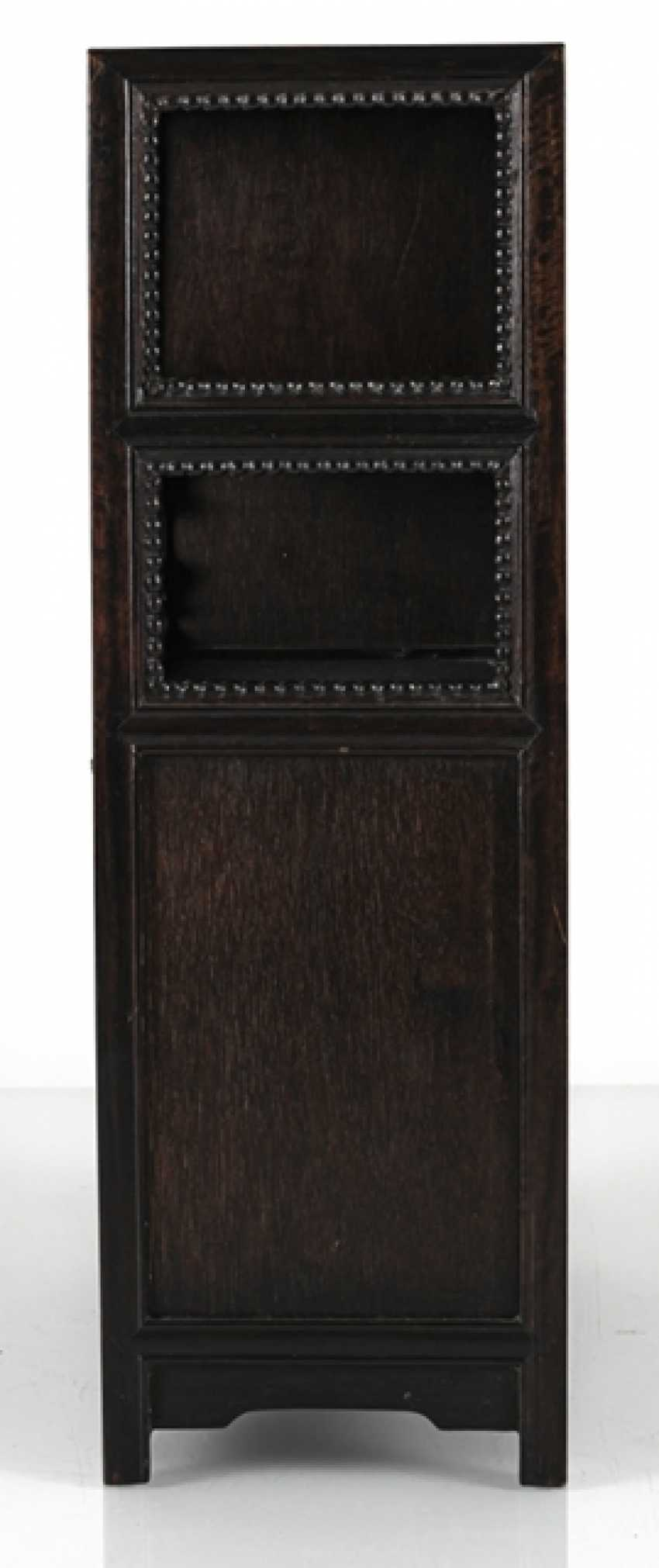 Small Cabinet made of hard wood with Display compartments - photo 4