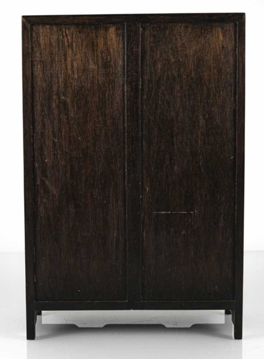 Small Cabinet made of hard wood with Display compartments - photo 6