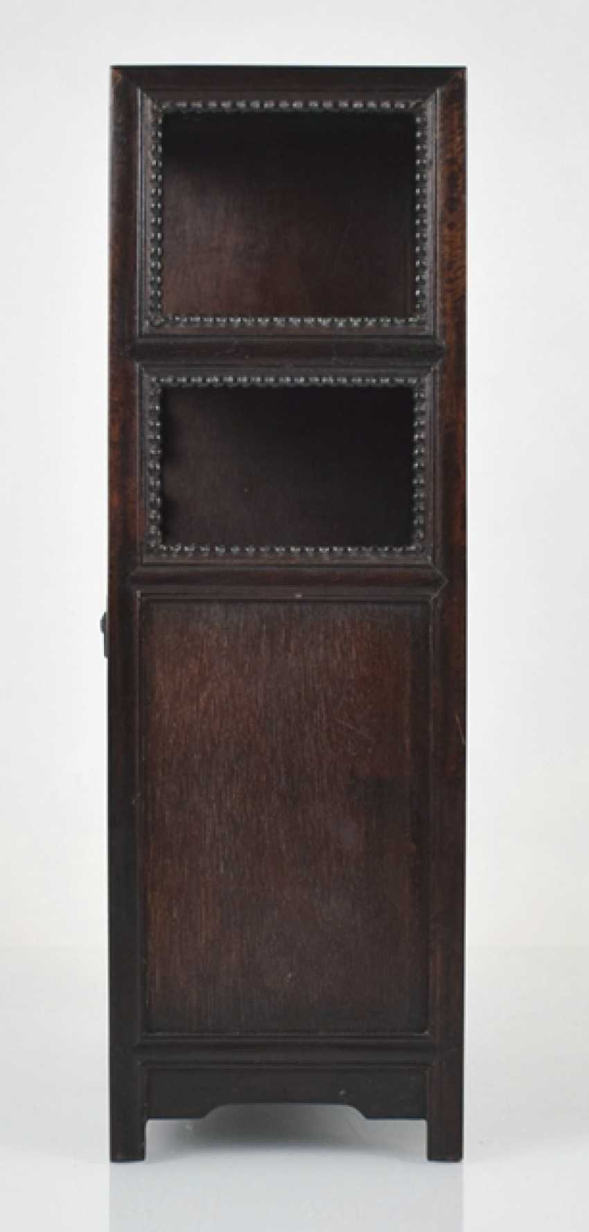 Small Cabinet made of hard wood with Display compartments - photo 7
