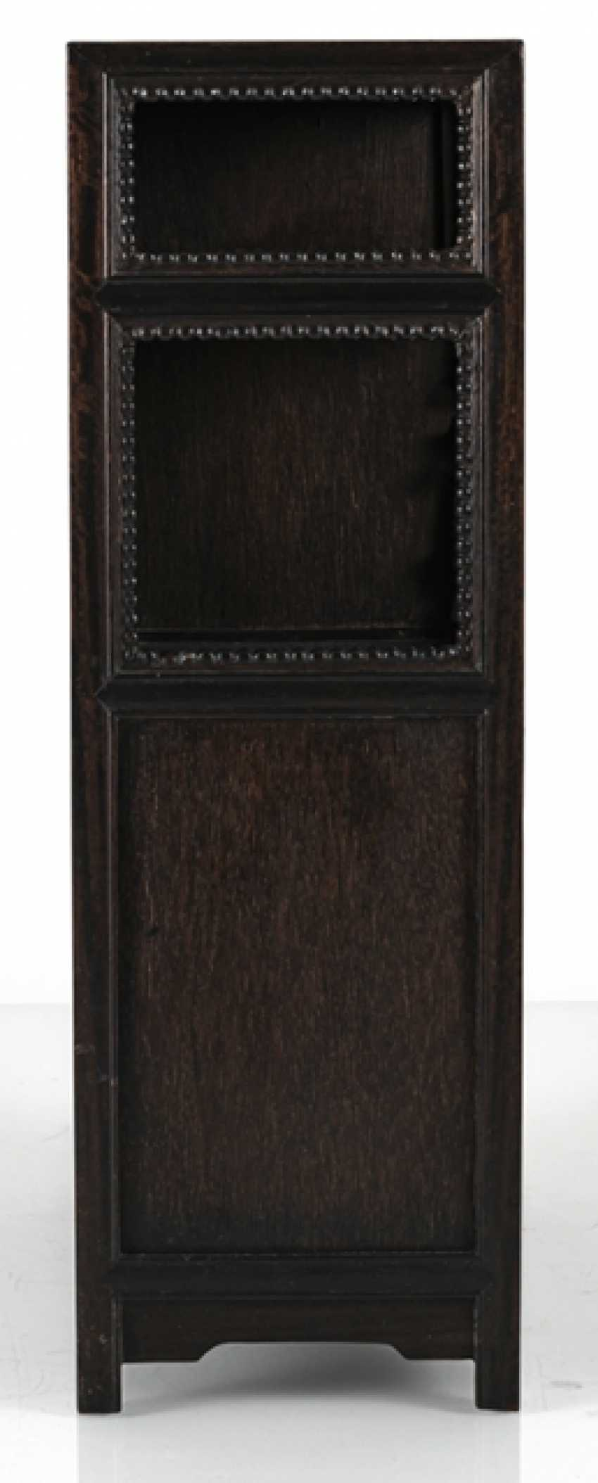 Small Cabinet made of hard wood with Display compartments - photo 8