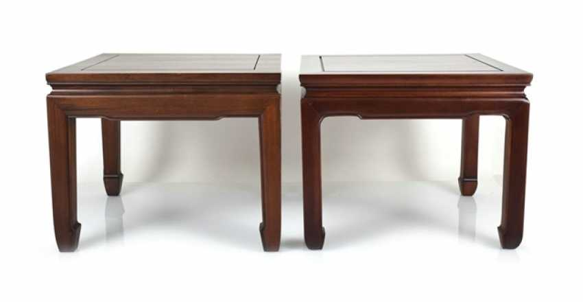 Two side tables made of Hard and soft wood - photo 1