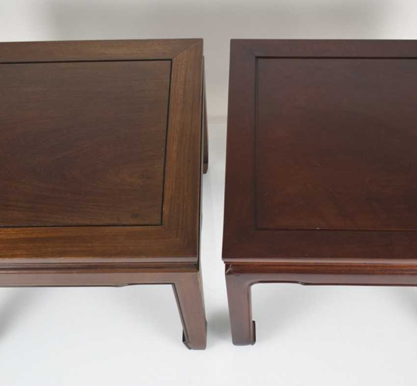 Two side tables made of Hard and soft wood - photo 2