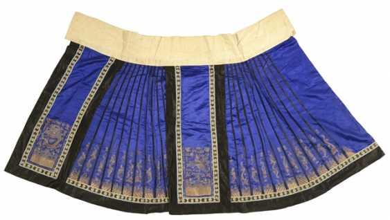Ladies skirt, made of silk - photo 1