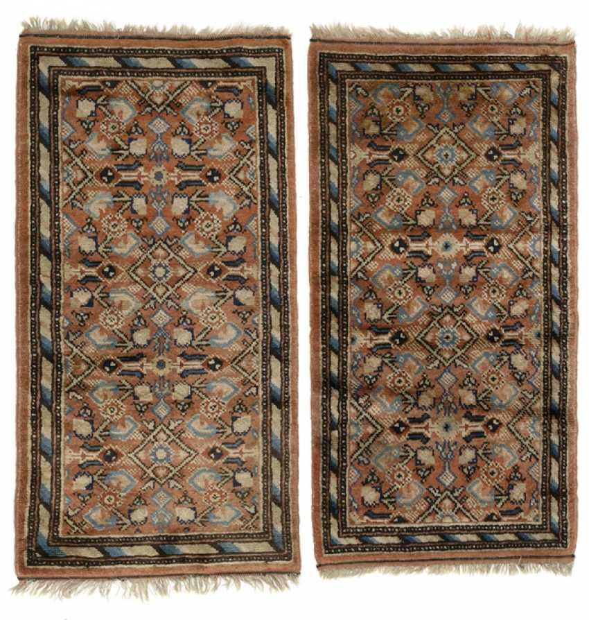 Couple of rugs wool Khotan pattern - photo 1