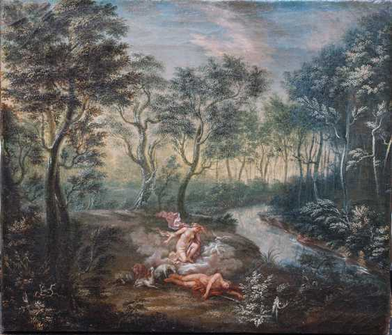 Flemish or German School 18th Century, Diana and Endymion - photo 1