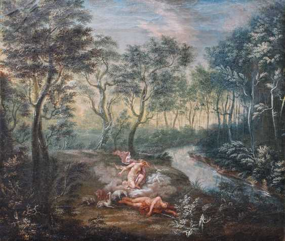 Flemish or German School 18th Century, Diana and Endymion - photo 2