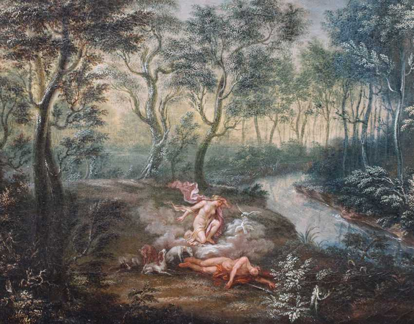 Flemish or German School 18th Century, Diana and Endymion - photo 3