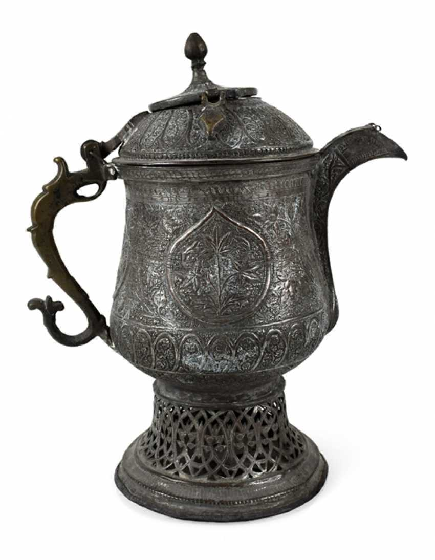 Wine jug is made of silver - photo 1