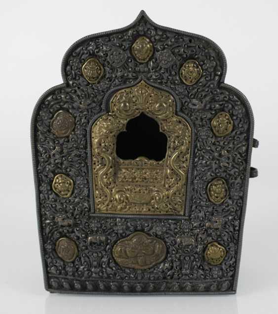 Travel Altar (gau) made of copper metal deposits - photo 2
