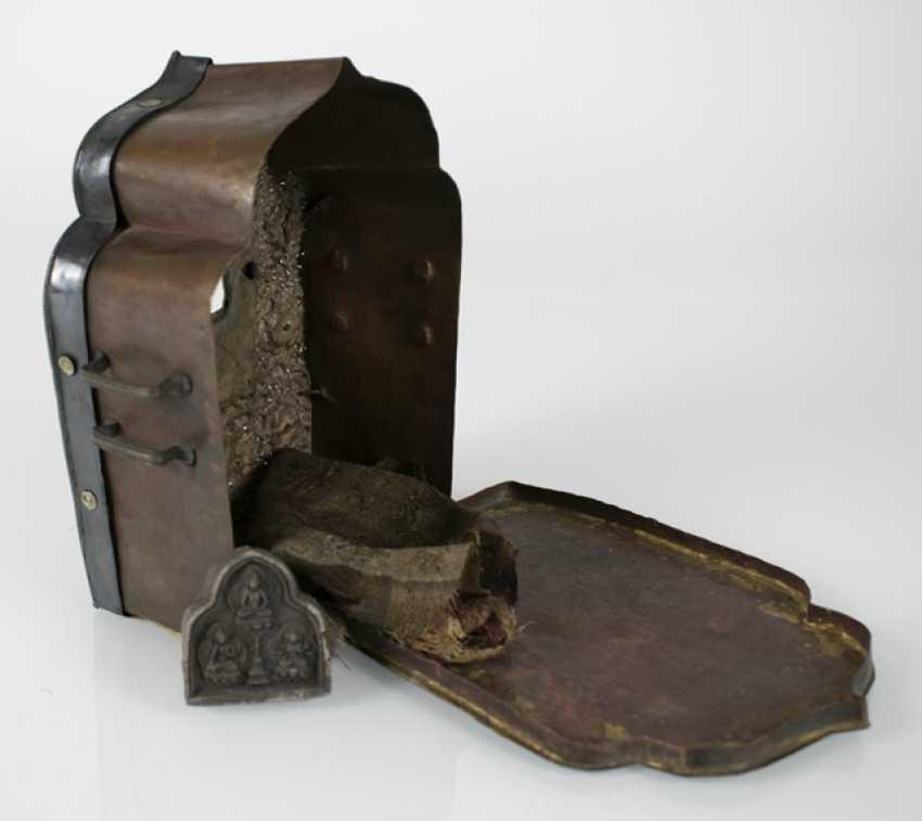 Travel Altar (gau) made of copper metal deposits - photo 4