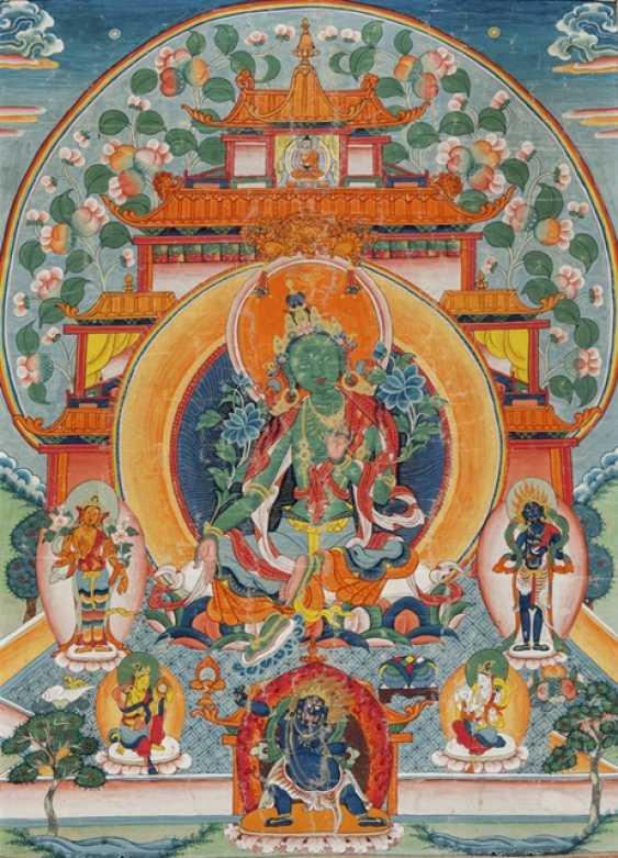 Thangka of Syamatara - photo 1