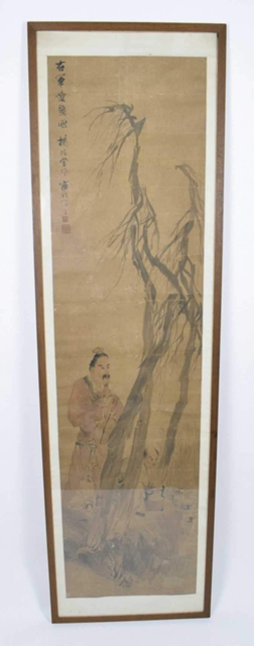 Painting with presentation of the Wang Xizhi at the goose pond - photo 2