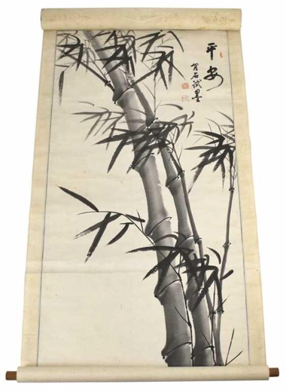 Bamboo painting - photo 1