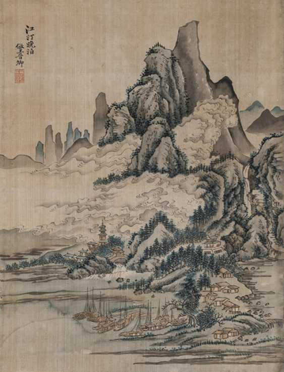 In the style of Wang Hui (1632-1717) - photo 1