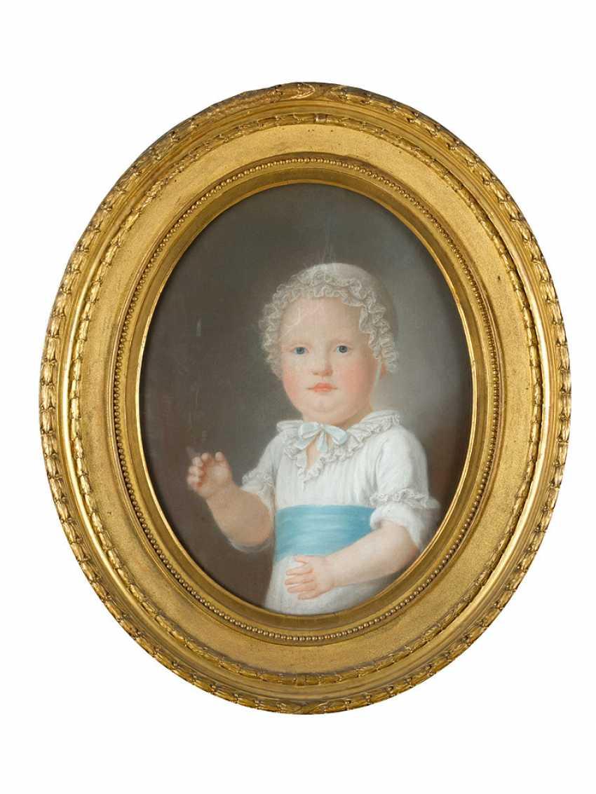 Élisabeth Vigée-Lebrun (1755-1842)-attributed, Portrait of a child - photo 1