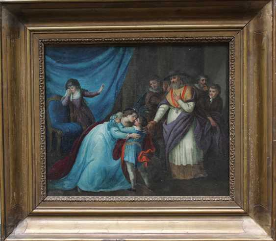 Vincenz Georg Kininger (1767-1851)-attributed, Goodbye for the journey - photo 1
