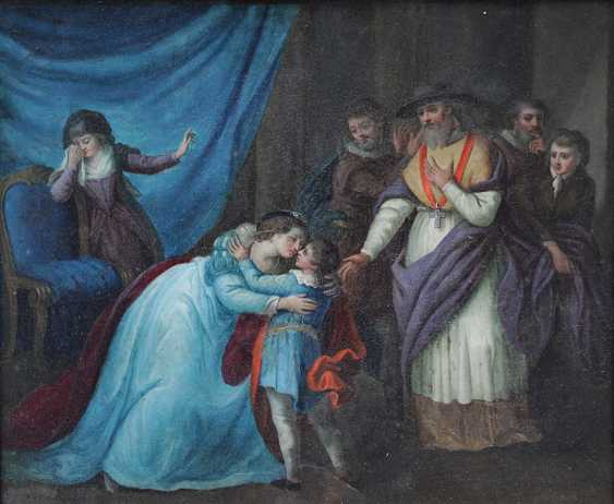 Vincenz Georg Kininger (1767-1851)-attributed, Goodbye for the journey - photo 3