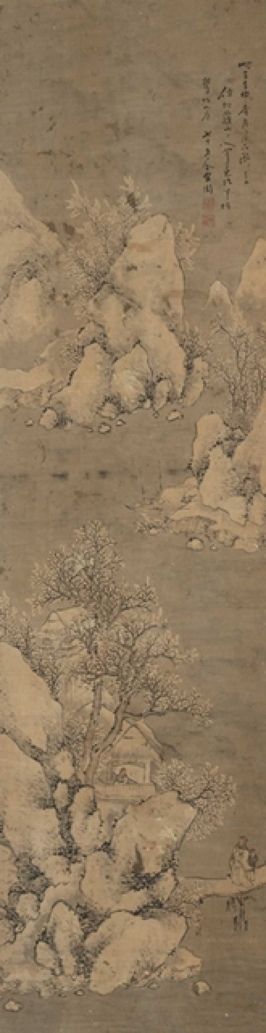 In the style of Shanghuan Zhou (1665 - after 1749), two rolls of Hanging - photo 1