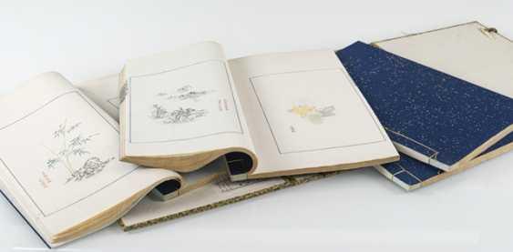 Four volumes with Color woodcuts - Shizhuzhai jianpu - photo 2