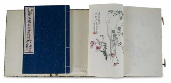 Werke von Qi Baishi, 'Beijing rongbaozhai xinji shijian pu' - photo 1