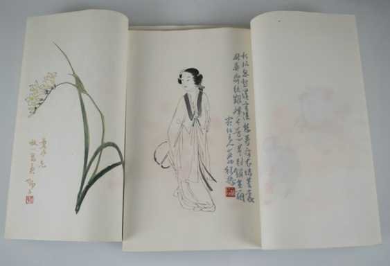 Werke von Qi Baishi, 'Beijing rongbaozhai xinji shijian pu' - photo 2