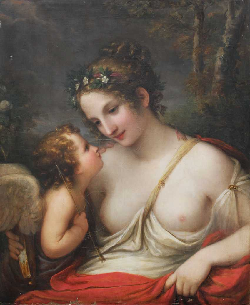 Natale Schiavoni (1777-1858)-attributed, Allegory with Amor and Psyche - photo 3