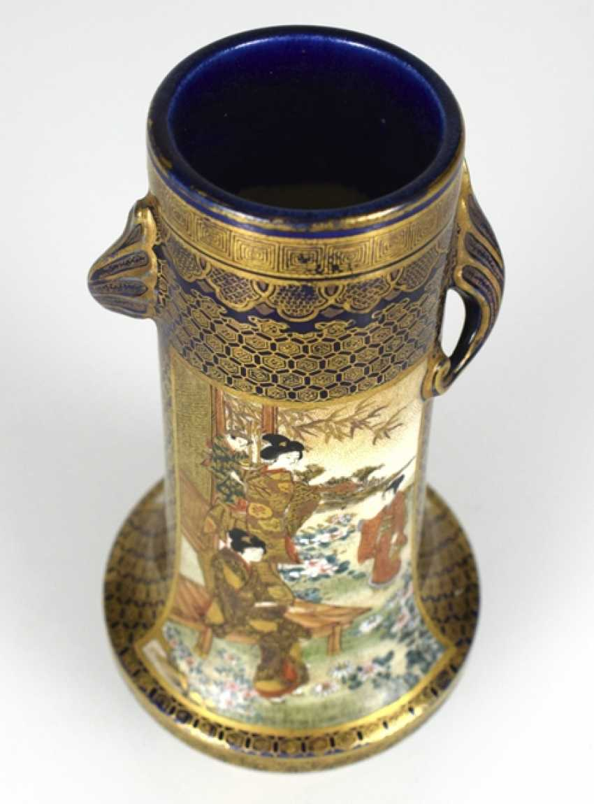Satsuma Vase with decor of Roman scenes - photo 2