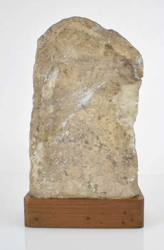 Stele made of Alabaster with a representation of the Umamaheshvara - photo 3