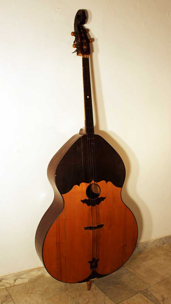 Double bass instrument with four strings - photo 2