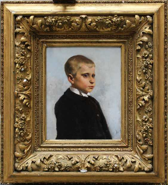 Austrian artist 19th Century, Portrait of a young boy said to be Crown Prince Rudolf of Habsburg (1858-1889) as a child - photo 1