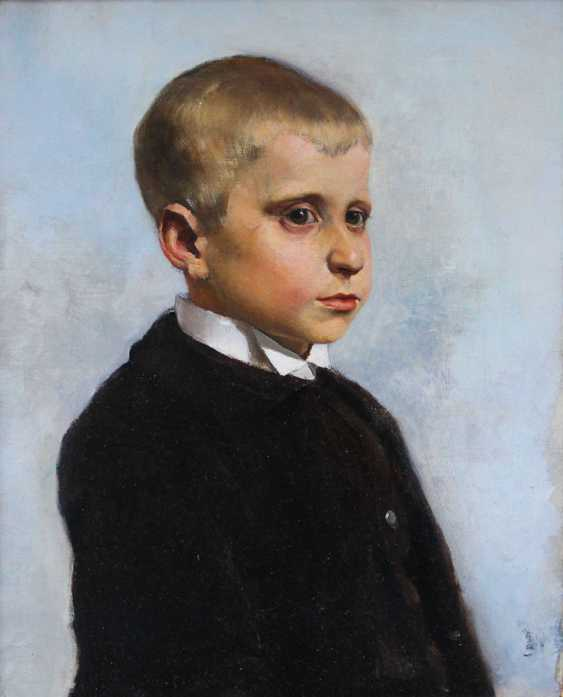 Austrian artist 19th Century, Portrait of a young boy said to be Crown Prince Rudolf of Habsburg (1858-1889) as a child - photo 2