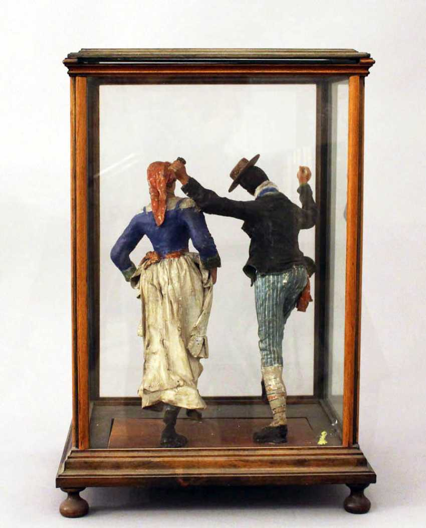 Lot 178  Sculpture of a Tarantella dancing couple in