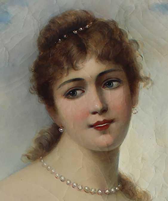 Paul Leroy (1860-1942), Portrait of a girl - photo 2