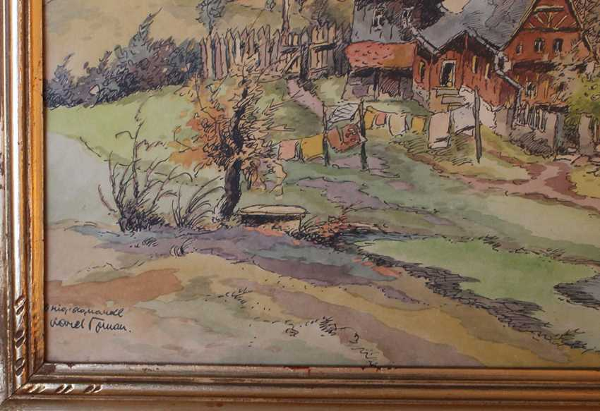 Karel Toman (1877-1946), View of a village - photo 3