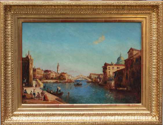 Alfred Bachmann (1880-1964), View of Venice with the Rialto bridge - photo 1