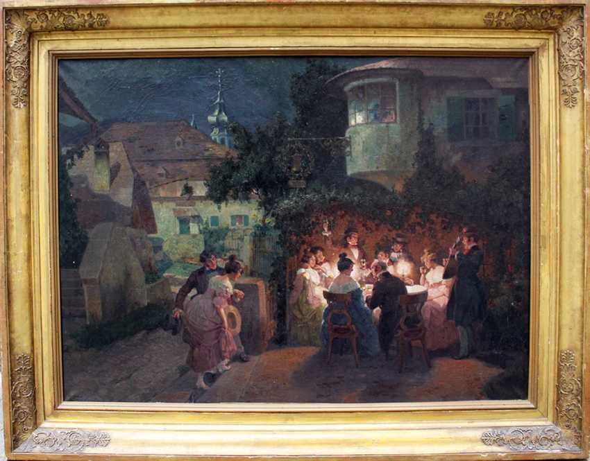 Rudolf Alfred Right (1877-1930), A funny evening - photo 1