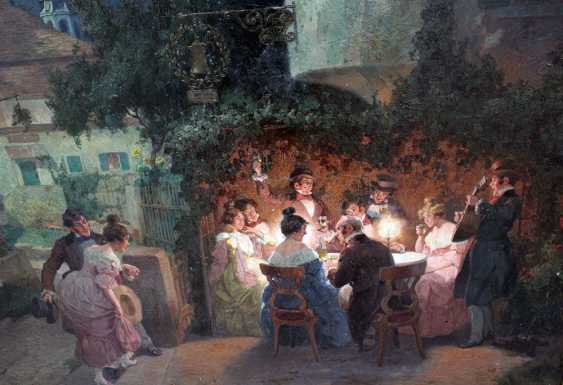 Rudolf Alfred Right (1877-1930), A funny evening - photo 2