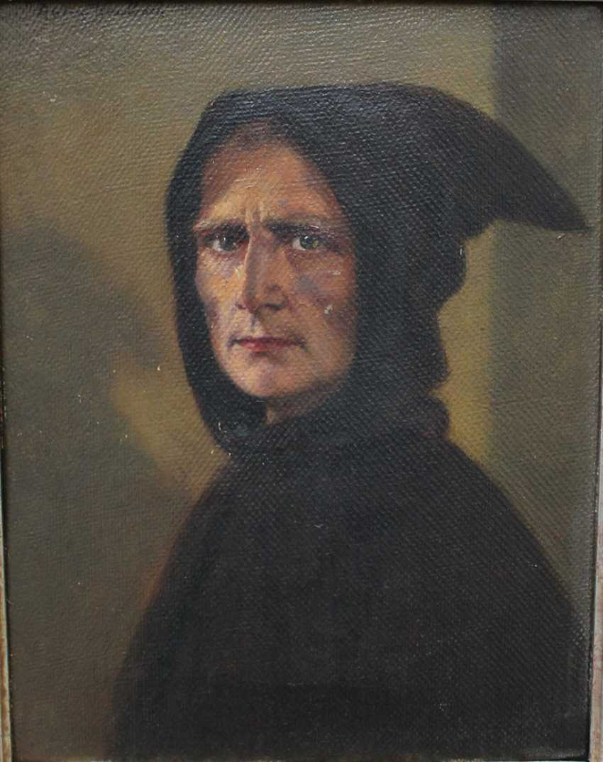 Anton Kaulbach (1864-1934), Portrait of a monk - photo 2